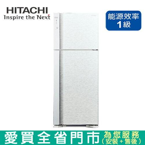 HITACHI日立460L雙門變頻冰箱RV469-PWH含配送+安裝【愛買】 - 限時優惠好康折扣