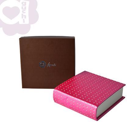 【Aguchi 亞古奇】童話魔法書-公主桃紅 珠寶盒(玩美精靈系列) 2