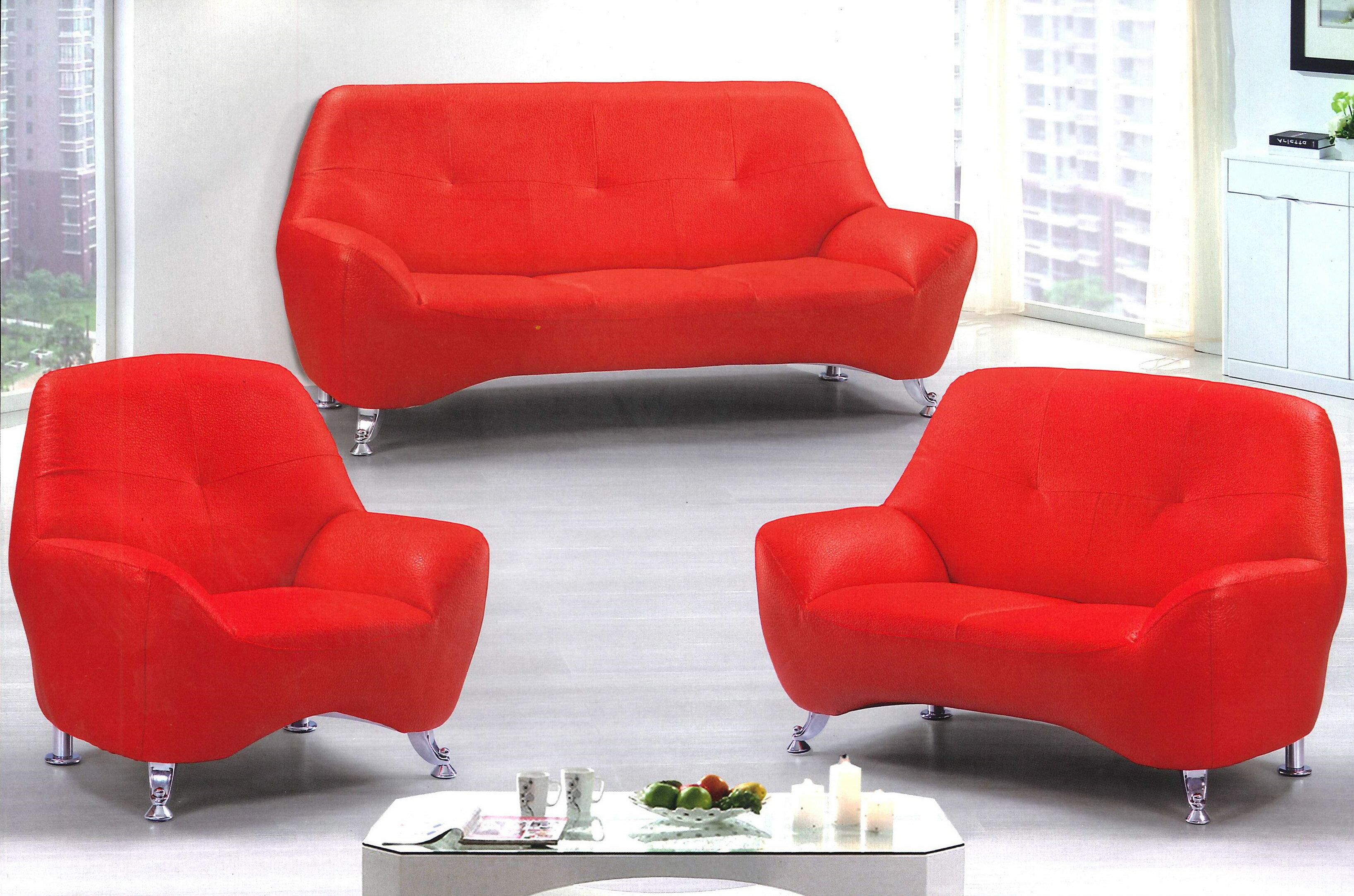 【MSL】繽紛生活皮面沙發組 - 限時優惠好康折扣