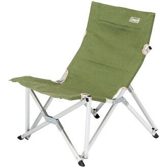 【鄉野情戶外專業】 Coleman |美國| 休閒椅 帆布舒活椅-艾薇綠 CM-3110JM000