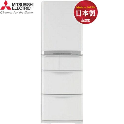 Mitsubishi 三菱 MR-B42T-W-C 420L 5門 變頻電冰箱 日本原裝 (簡約白)