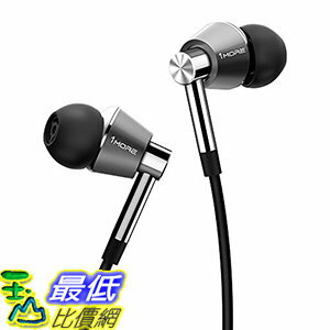 [106美國直購] 耳機 1MORE Triple Driver B01KB9K9Z0 In-Ear Headphones with Apple iOS and Android Compatible (Silver)