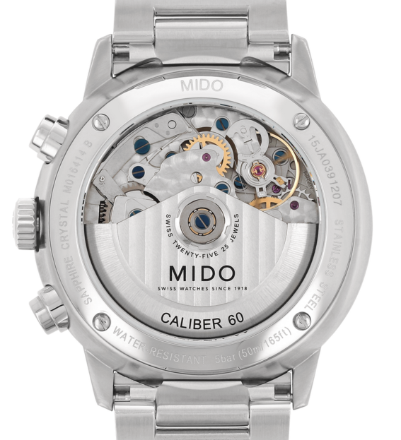 MIDO 美度 M0164141104100 Commander 指揮官系列機械腕錶 藍 銀 42.5mm 1