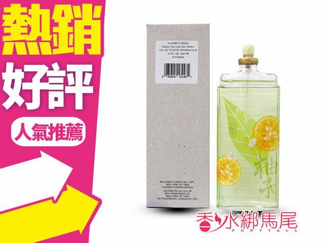 Arden Green Tea Yuzu 雅頓 綠茶 柚子 淡香水 100ml TESTER◐香水綁馬尾◐