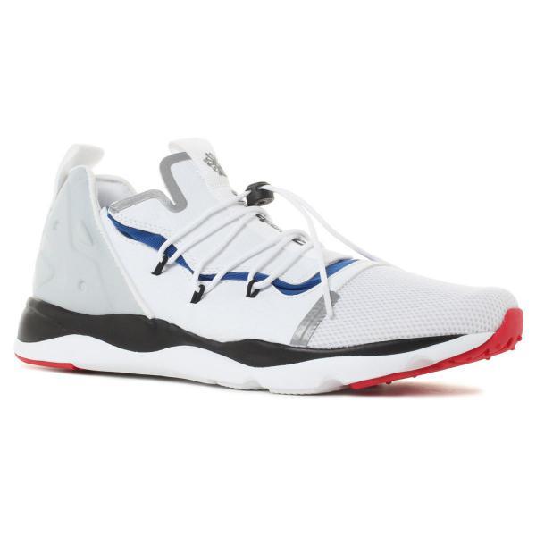 REEBOKFURYLITEXMP男鞋慢跑休閒輕量透氣抽繩白黑藍紅【運動世界】CM9945