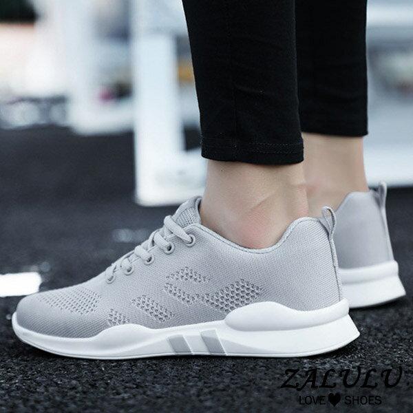 7ID096 預購 網美推薦款舒適休閒布鞋-黑 / 灰 / 粉-36-40【ZALULU愛鞋館】 4