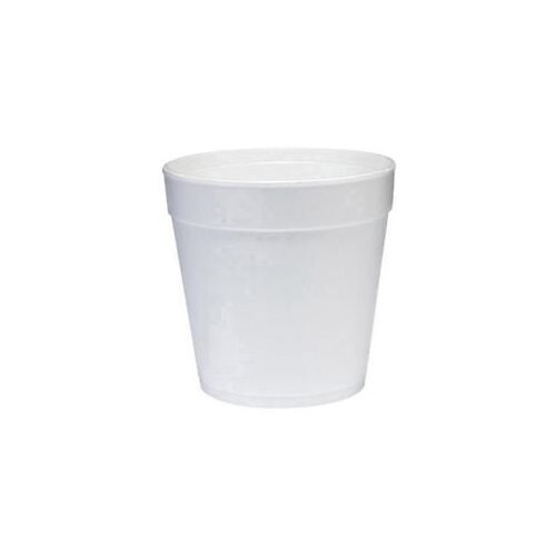 32 Oz Insulated Foam Food Container 25 / Bag in White 0