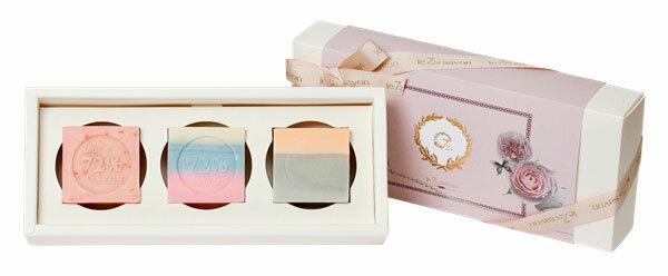 《雪文洋行》禮物系列~複雜的純真三入禮盒組-72%馬賽皂110gx3-贈精緻紙禮盒包裝與提袋 0