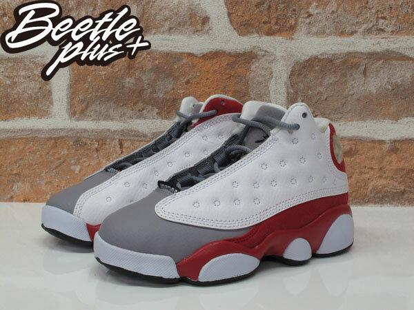 中童 BEETLE NIKE AIR JORDAN 13 RETRO BR 白紅 灰 復古 籃球鞋 414575-126 1