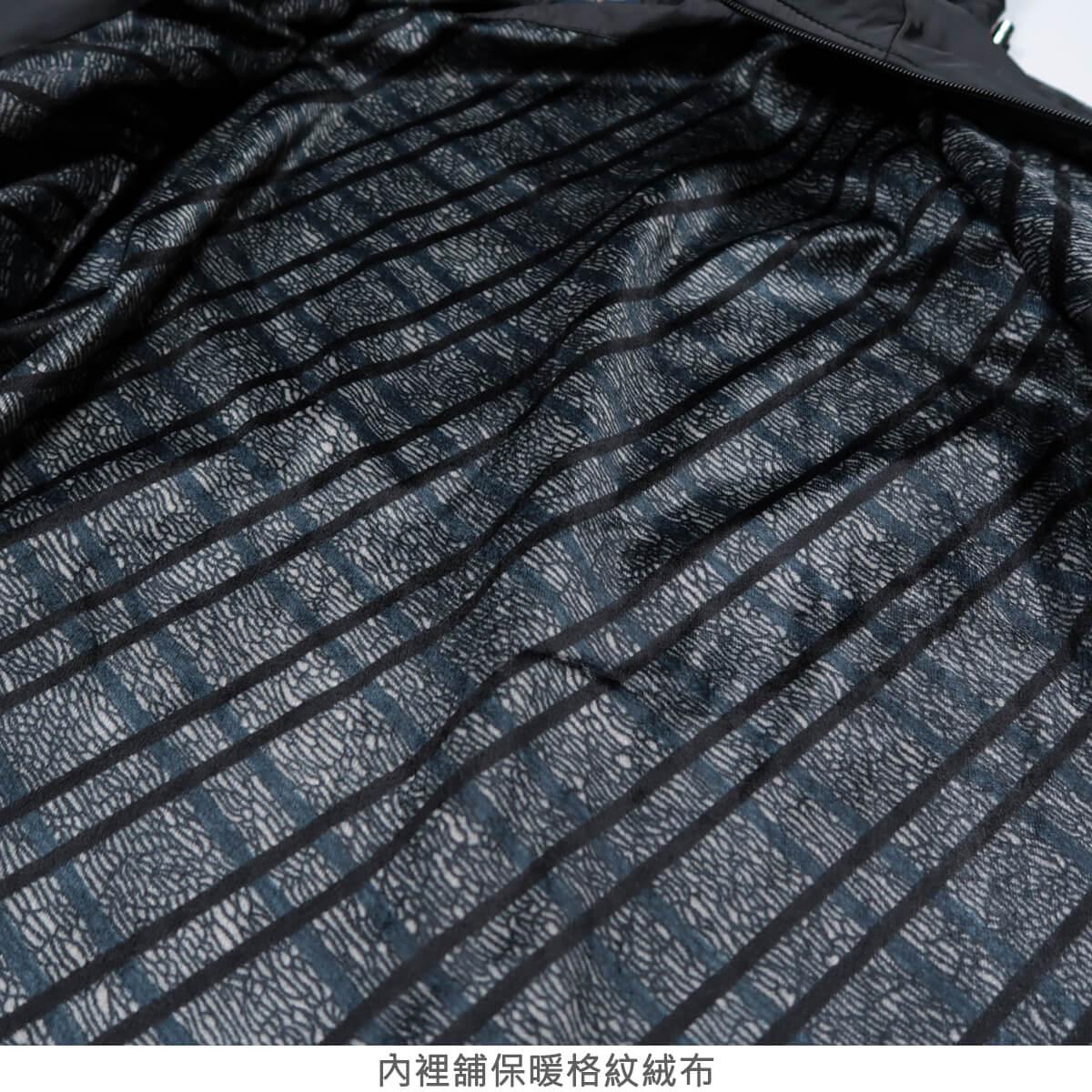 內舖絨布保暖風衣外套 保暖外套 騎士外套 夾克外套 防風外套 黑色外套 FLANNEL LINED WINDBREAKER JACKETS (312-6077-21)黑色 L XL 2L(胸圍46~51英吋) [實體店面保障] sun-e 8