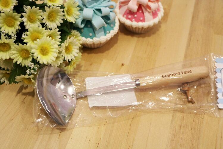 日本製美食廚房-橫口長柄杓