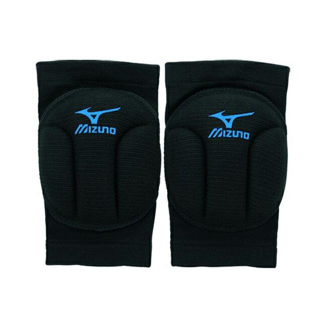 加厚型易彎排球護膝 V2TY600192﹝黑X藍﹞ / 雙【美津濃MIZUNO】