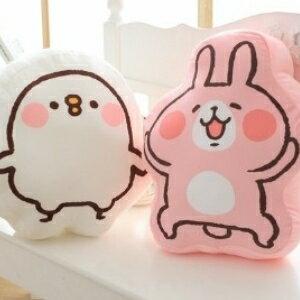美麗大街【105122114】日本大人氣正版Kanahei卡娜赫拉的小動物卡通靠墊抱枕車載靠枕