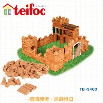 【德國teifoc】益智磚塊建築玩具-波特城堡 TEI3400