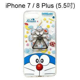 哆啦A夢摩天輪指環支架空壓殼[大臉]iPhone7Plus8Plus(5.5吋)小叮噹【正版授權】