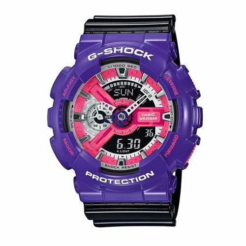 CASIO/G-SHOCK/調色對味運動錶/GA-110NC-6ADR
