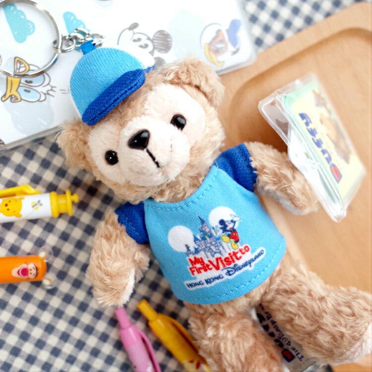 PGS7 香港迪士尼系列商品 - 香港 迪士尼 達菲 Duffy 吊飾 鑰匙圈 娃娃 玩偶 掛包包【SKD7196】