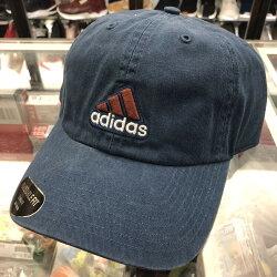 現貨 BEETLE ADIDAS 藍色 咖啡 立體 經典LOGO 老帽 棒球帽 可調式 男女款