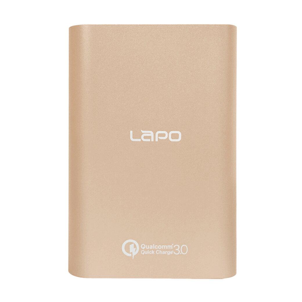 【LAPO】10000mAh支援QC 3.0/Type-C快充金屬合金行動電源 (LT-100S)