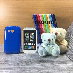 大都會保護殼 HTC Desire C A320E/Desire VC T328d 保護殼 TPU 軟殼 閃粉 矽膠殼 手機殼 背蓋