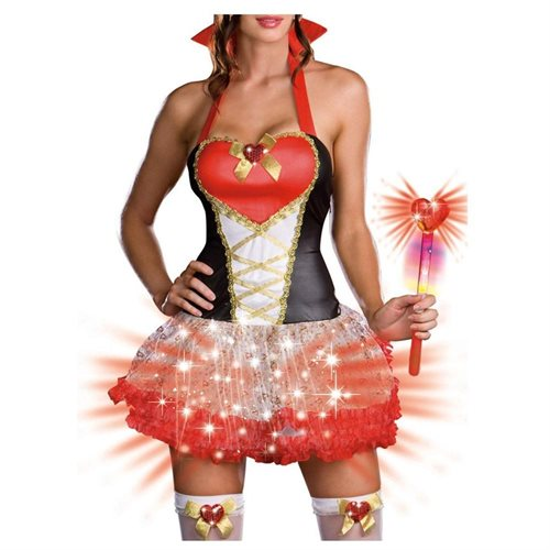 Queen of Heartbreakers (Light-Up) Adult Halloween Costume 1