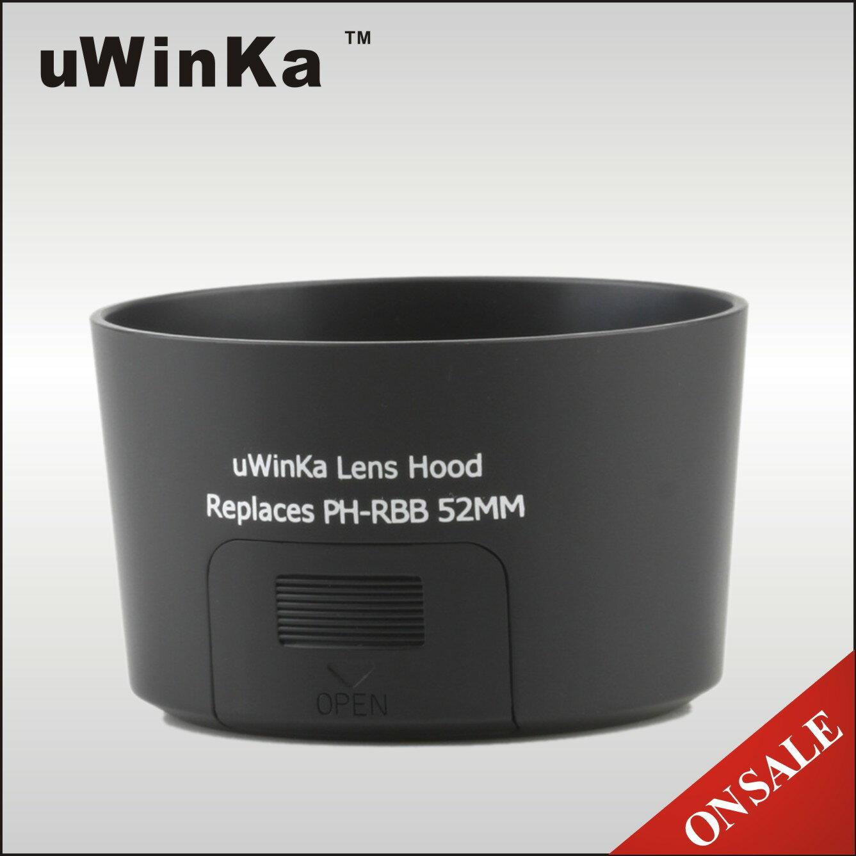 又敗家@uWinka副廠Pentax賓得士PH-RBB遮光罩52mm遮光罩(適PENTAX DA 50-200mm F4.0-5.6 ED kit鏡F4-5.6 F/4-5.6;可反接反裝反扣倒裝;有CPL開口小窗)PH-RBB太陽罩PHRBB遮光罩lens hood