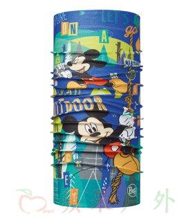 【【蘋果戶外】】BF113262西班牙BUFF魔術頭巾歡樂米奇迪士尼授權青少年兒童小頭圍