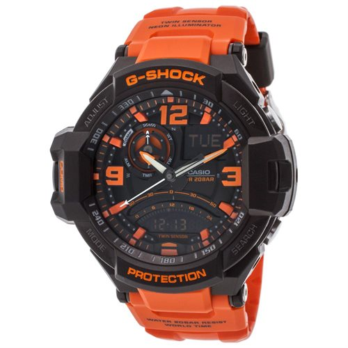 Casio G-Shock G-Aviation Compass Aviator Watch GA1000-4A 0
