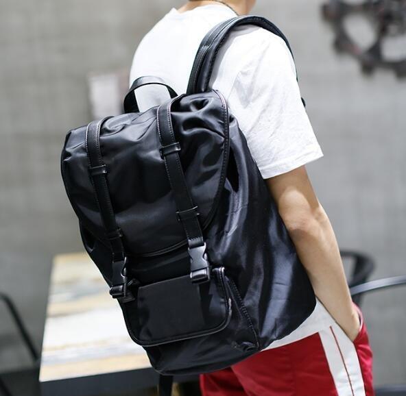 FINDSENSE Z1 韓國 時尚 潮 男 尼綸布 複古 學生包 書包 電腦包 旅行包 後背包 雙肩包