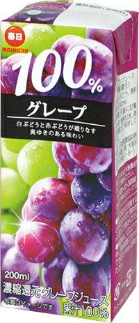 日本酪農 每日葡萄汁200ml(2021.03.10)24瓶/箱