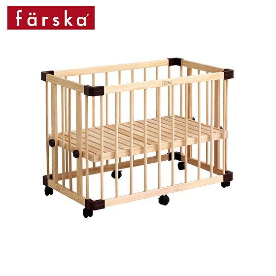 日本【farska】溫婉木質多功能嬰兒床(中)(95x65x70cm) _好窩生活節