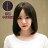 韓系空氣瀏海 空靈氣質長BOBO短髮(加大頭皮)【MB216】高仿真整頂假髮☆雙兒網☆ 1