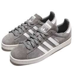 【ADIDAS】CAMPUS  愛迪達 運動鞋 休閒鞋 灰色 男鞋 -BZ0085