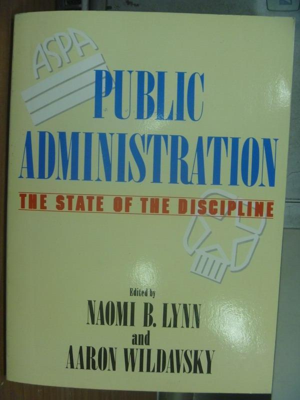 ~書寶 書T9/大學資訊_QAL~Public Administration_1990年