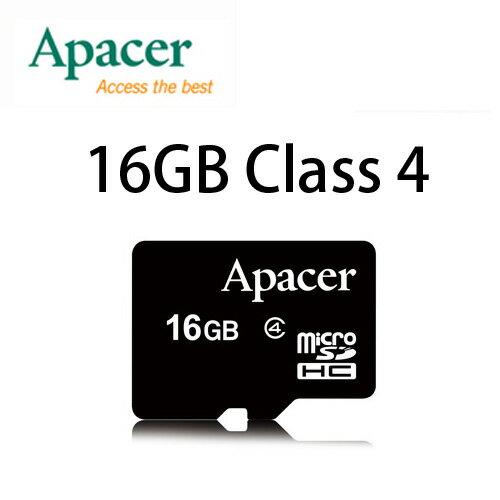 【升級Class 4】APACER MicroSD 16G/TF/Micro SD 16G/TF 16GB ~宇瞻公司貨終身保固~