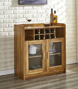 尚品傢俱:【尚品傢俱】JF-408-1萊姆2.8尺淺胡桃餐櫃