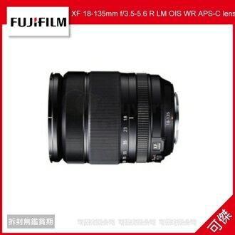 可傑 FUJIFILM 富士 XF 18-135mm f/3.5-5.6 R LM OIS WR APS-C lens 恒昶公司貨 保固一年