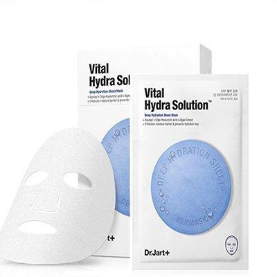 《現貨》韓國 Dr.Jart+錦囊妙劑活力保濕面膜(5pcs/盒)藍色 可小舖