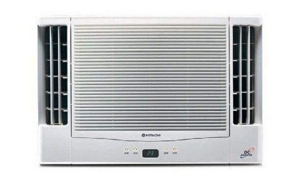[滿3千,10%點數回饋]『HITACHI』☆ 日立10-11坪變頻冷專雙吹窗型冷氣RA-68QV **免運費+基本安裝**