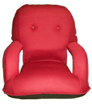 【MSL】京都日式扶手和室椅(紅色)