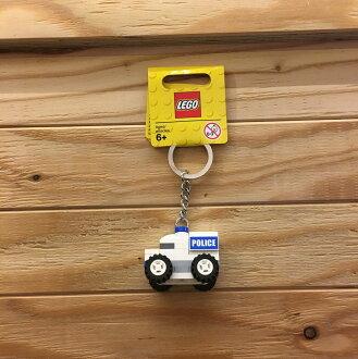 BEETLE LEGO POLICE CAR 警察 警車 樂高 積木 鑰匙圈 玩具 吊飾 正品 小車
