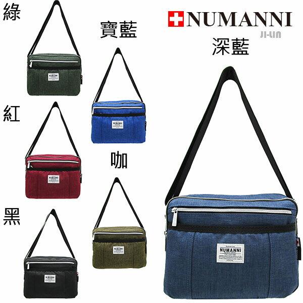58-735【NUMANNI 奴曼尼】麻布輕休閒側背包 (六色)