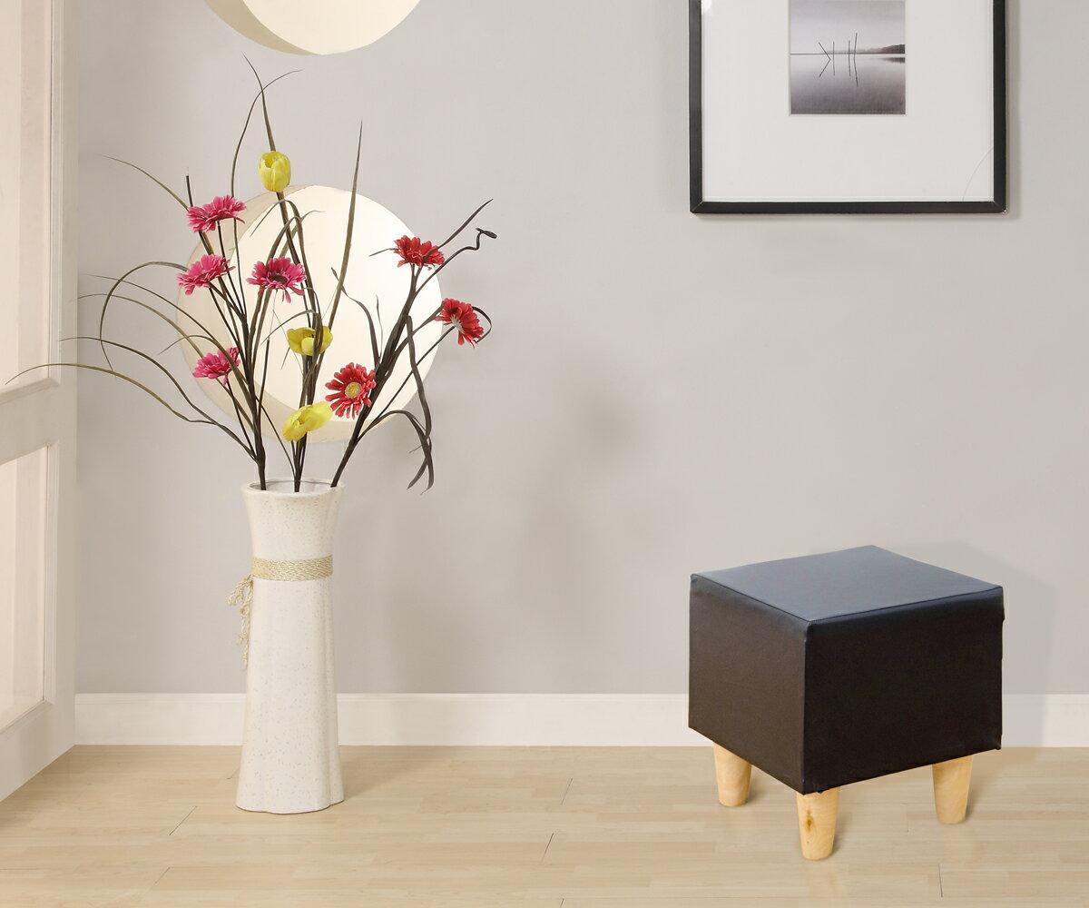椅子 沙發凳|實木腳經典沙發凳-多色|MIT台灣製造|木質傢俱|環保材質〔易宥家居〕