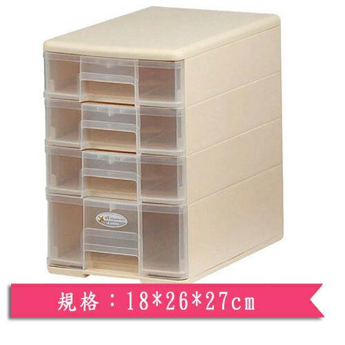 樹德SHUTER 四層玲瓏盒(18*26*27cm)【愛買】