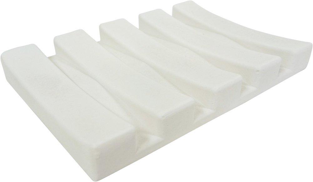 X射線【C029025】珪藻土肥皂盤-白,肥皂盒/肥皂盤/衛浴收納/菜瓜布/香皂/瀝水架/置物架