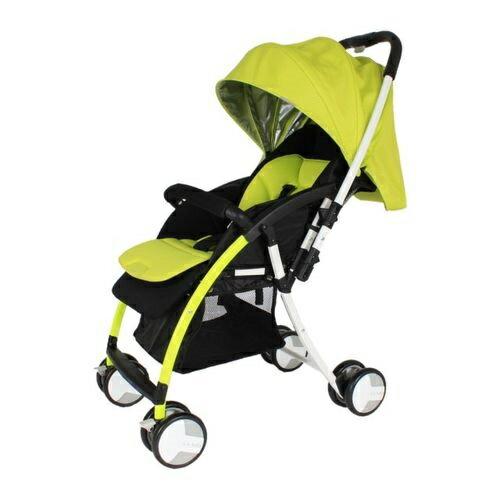 ★衛立兒生活館★L.A. Baby 美國加州貝比 超輕量 雙向嬰兒手推車-綠色