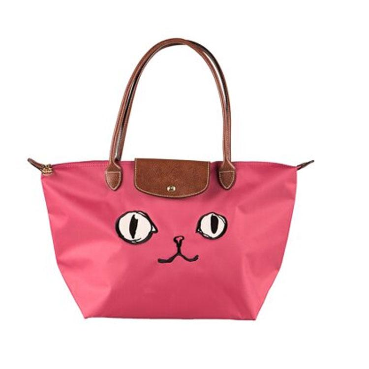 LONGCHAMP 2605 576 556新款包包貓咪款長柄小號折疊包水餃包 6