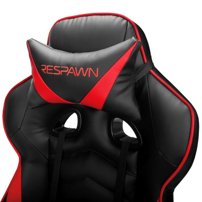 RESPAWN-110 Racing Style Gaming Chair - Reclining Ergonomic Leather Chair with Footrest, Office or Gaming Chair (RSP-110) 7
