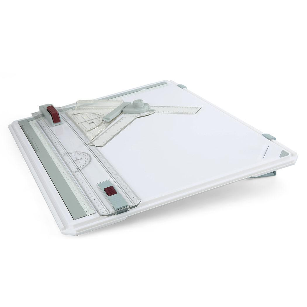A3 Multi-Function Plastic Drawing Board College School Parallel Motion With Set Square Graphic 1