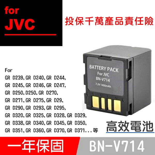 攝彩:特價款@攝彩@JvcBN-V714電池GRD290D293D295D320D325D328D329